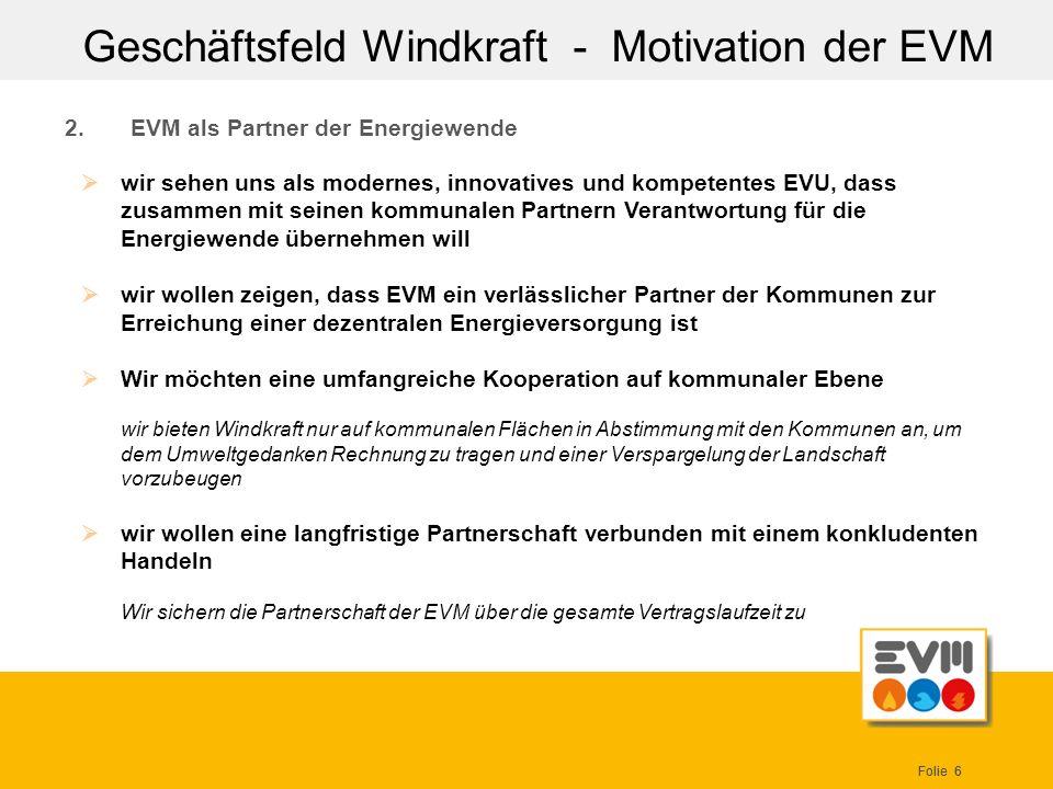 EVM als Partner der Energiewende