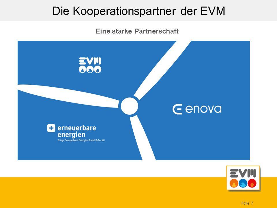 Die Kooperationspartner der EVM