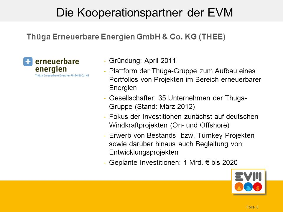 Thüga Erneuerbare Energien GmbH & Co. KG (THEE)
