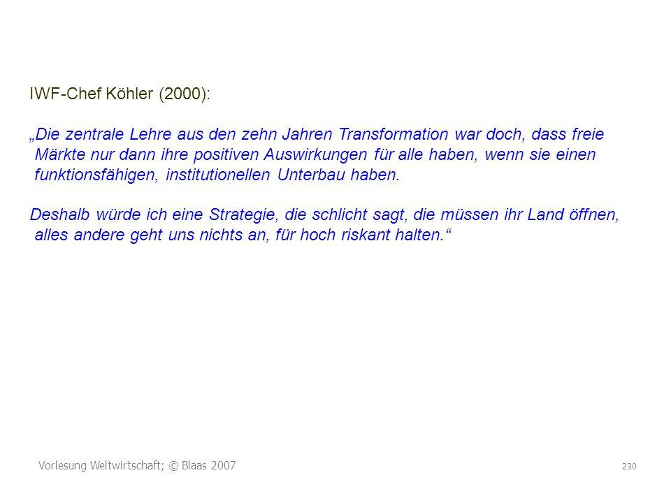 IWF-Chef Köhler (2000):