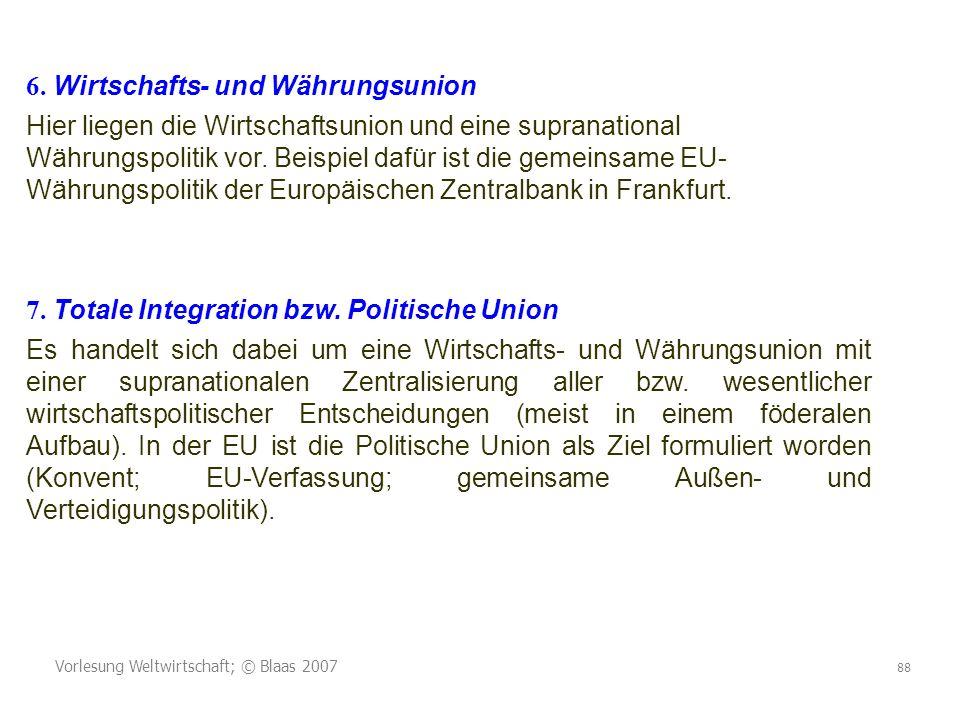 6. Wirtschafts- und Währungsunion