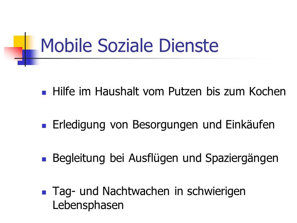 Mobile Soziale Dienste