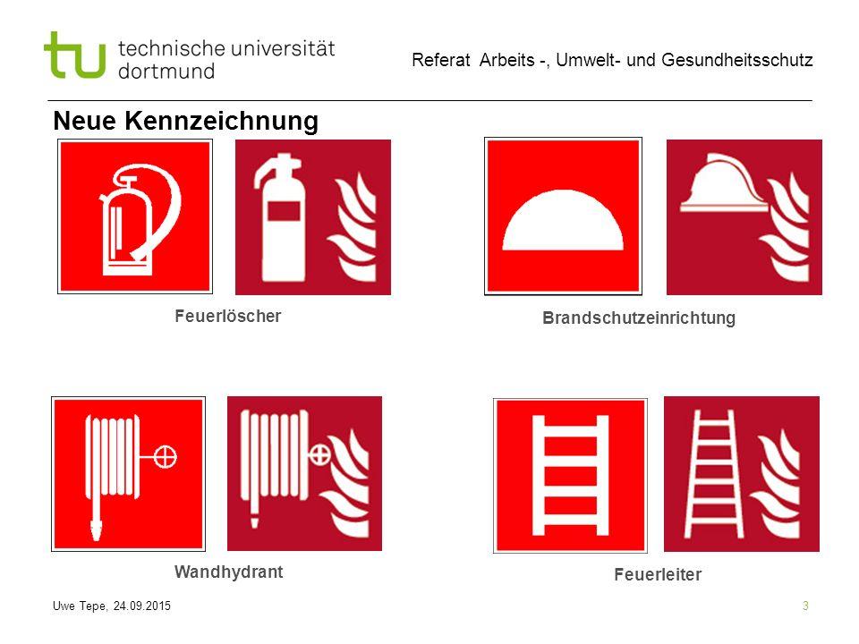 Neue Kennzeichnung Feuerlöscher Brandschutzeinrichtung Wandhydrant