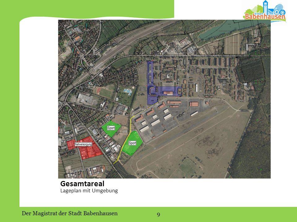 Gesamtareal Lageplan mit Umgebung