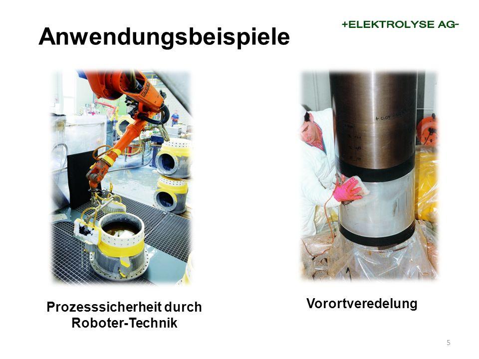 Prozesssicherheit durch Roboter-Technik