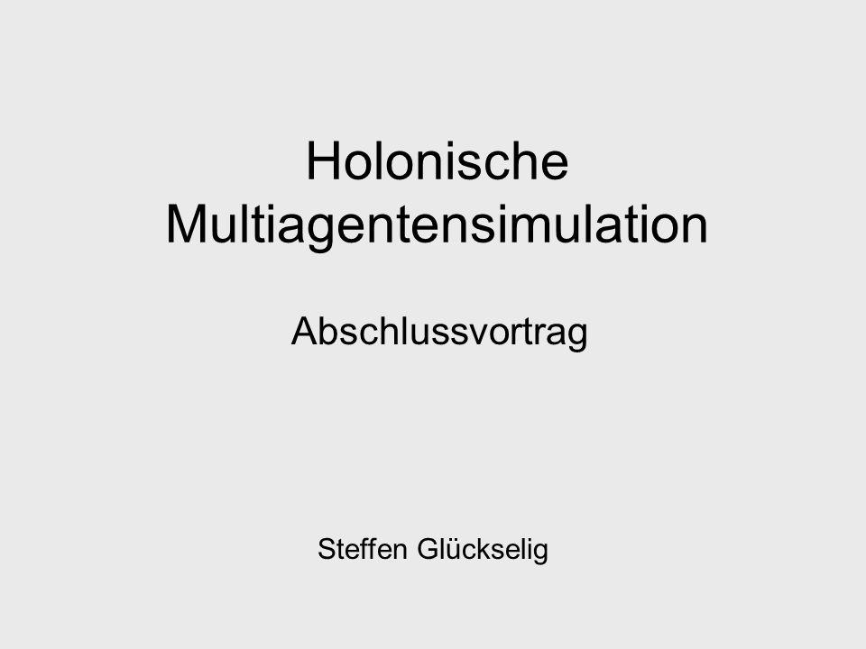 Holonische Multiagentensimulation