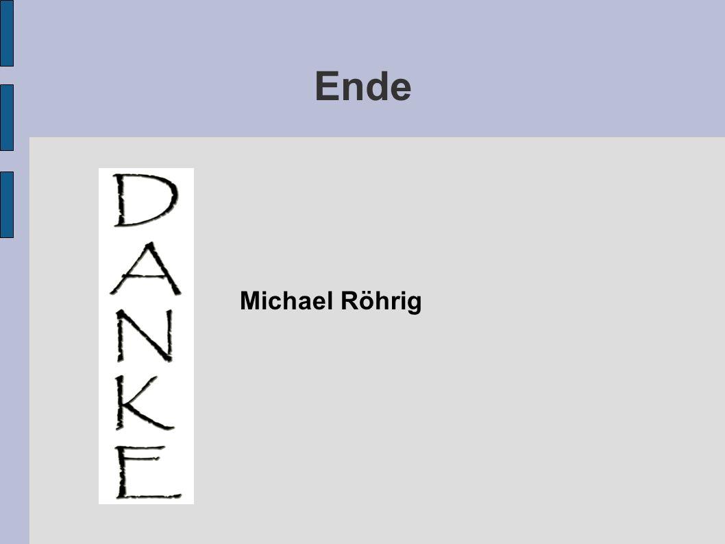 Ende Michael Röhrig