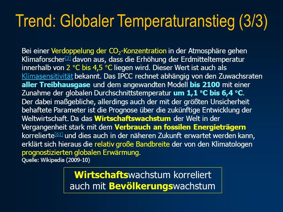 Trend: Globaler Temperaturanstieg (3/3)