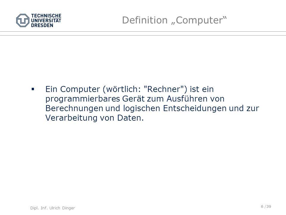 "Definition ""Computer"
