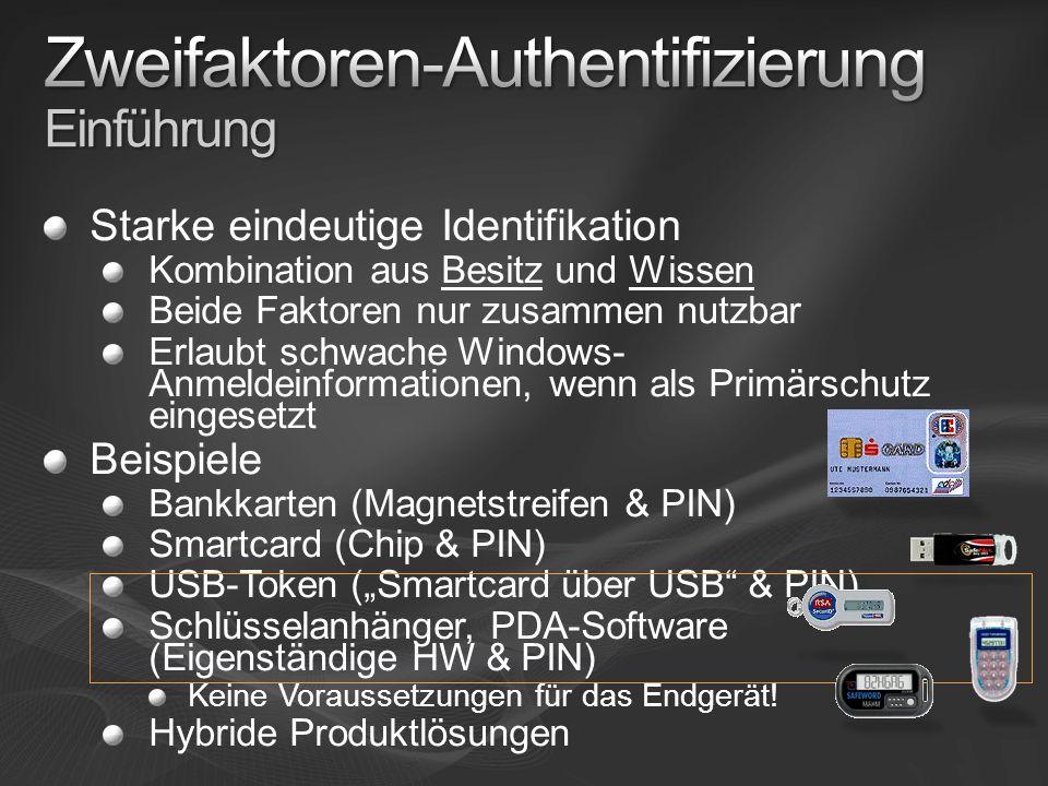 Zweifaktoren-Authentifizierung Einführung