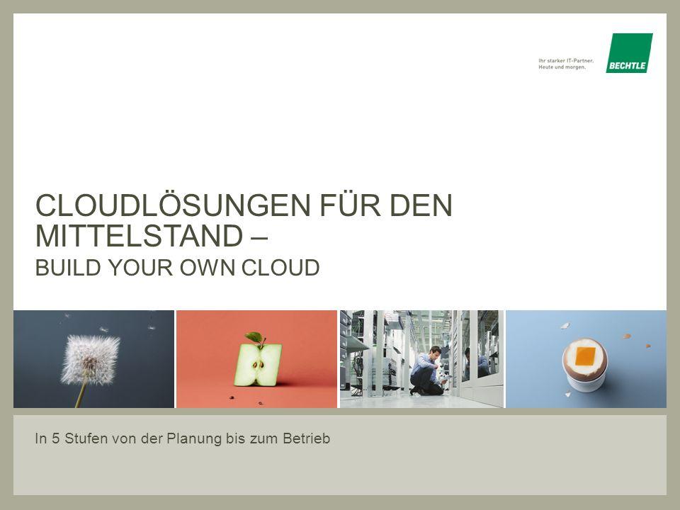 Cloudlösungen für den Mittelstand –