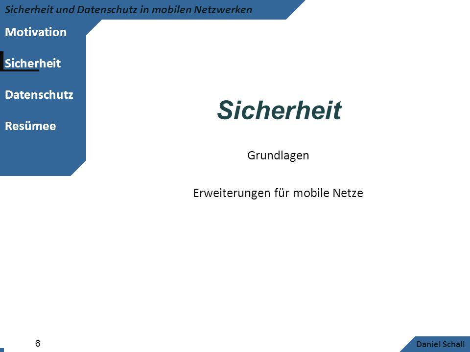 Erweiterungen für mobile Netze