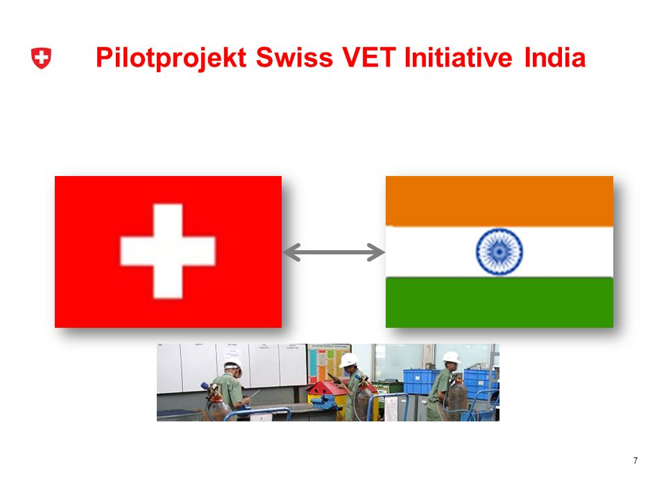 Pilotprojekt Swiss VET Initiative India