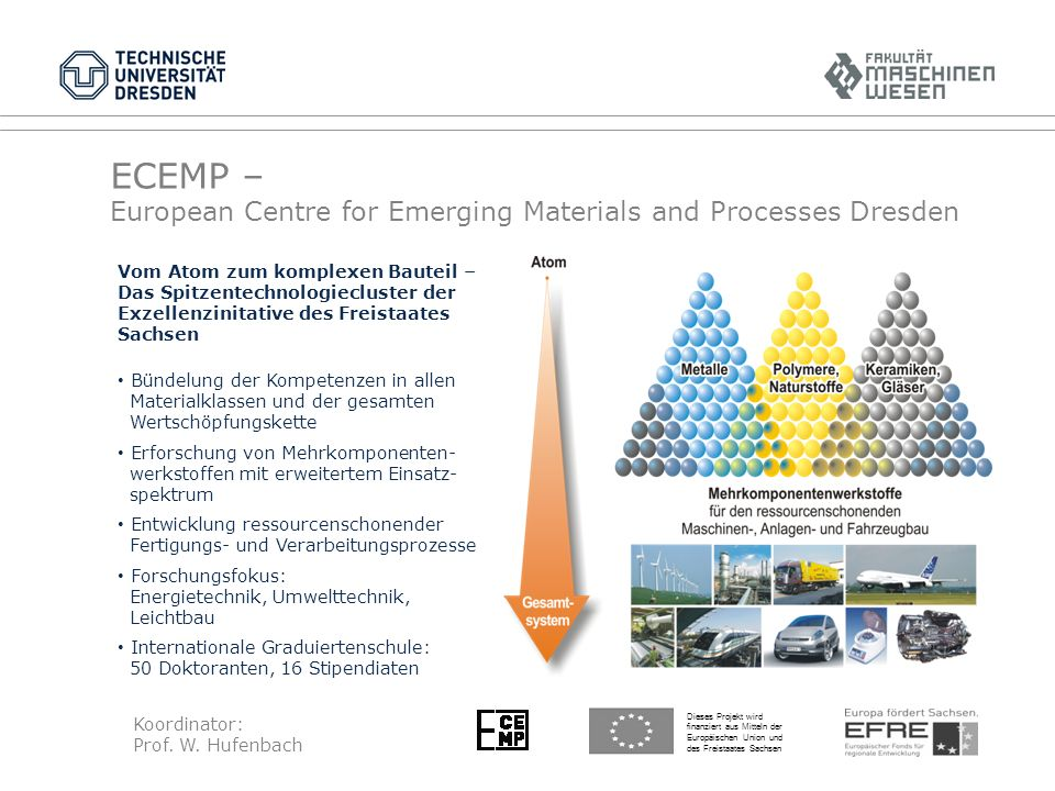 ECEMP – European Centre for Emerging Materials and Processes Dresden