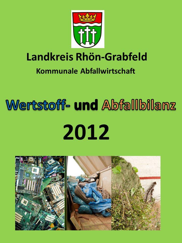 Landkreis Rhön-Grabfeld Wertstoff- und Abfallbilanz