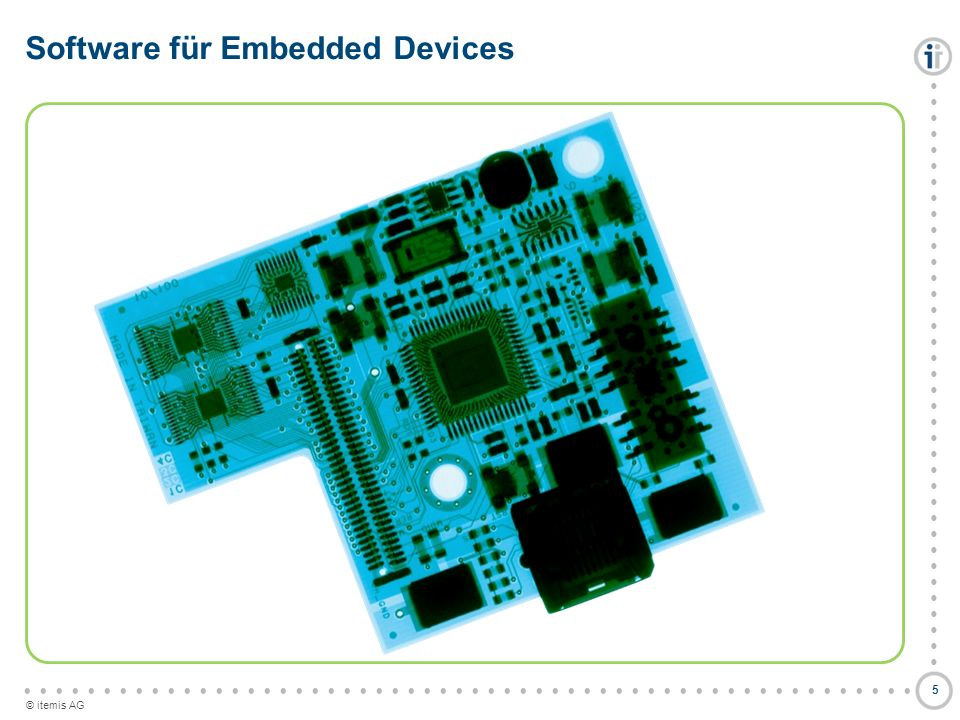 Software für Embedded Devices