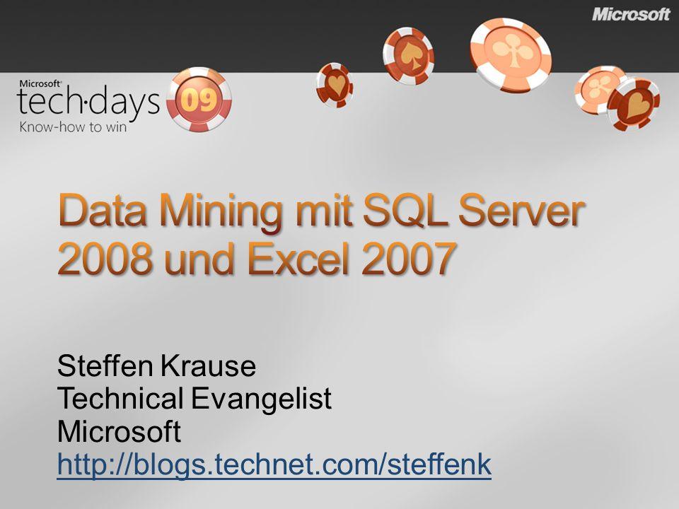 Data Mining mit SQL Server 2008 und Excel 2007