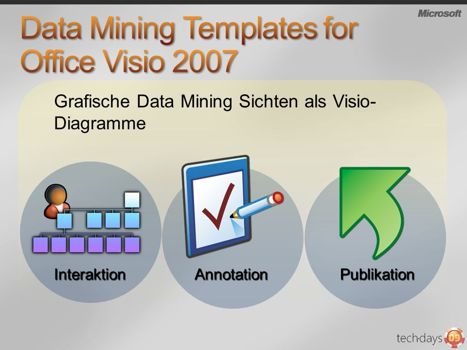 Data Mining Templates for Office Visio 2007