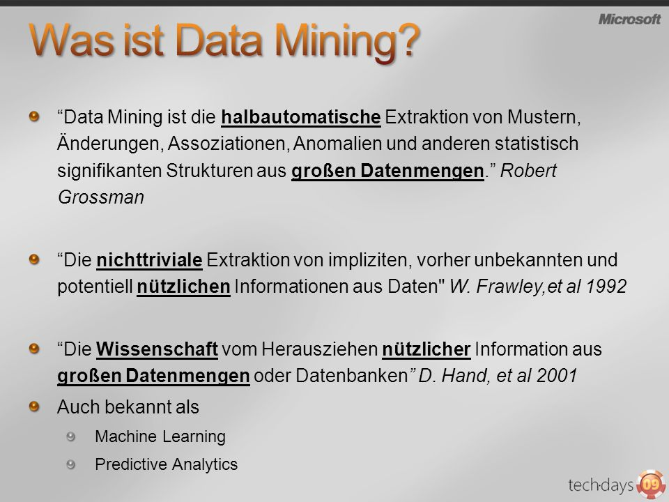 Was ist Data Mining