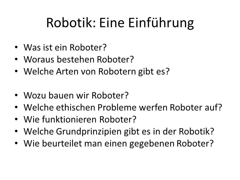 Robotik: Eine Einführung