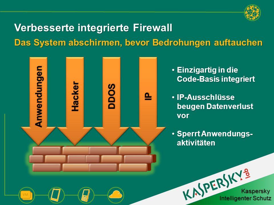 Verbesserte integrierte Firewall
