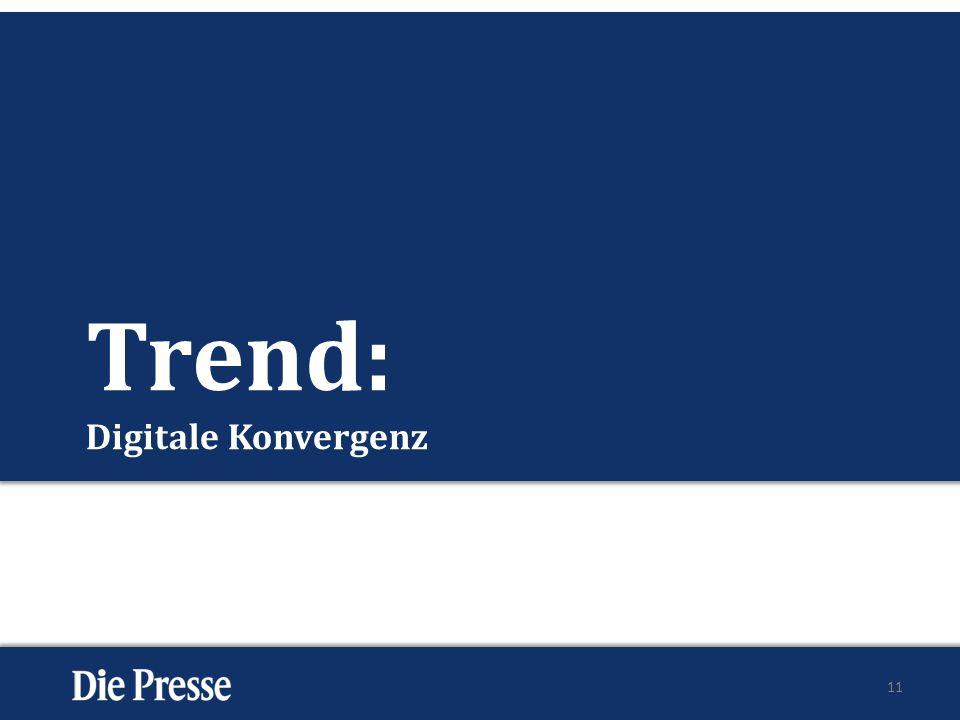 Trend: Digitale Konvergenz