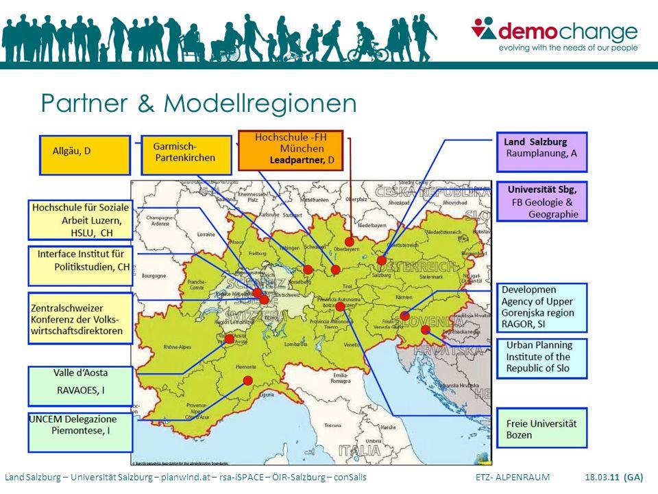 Partner & Modellregionen