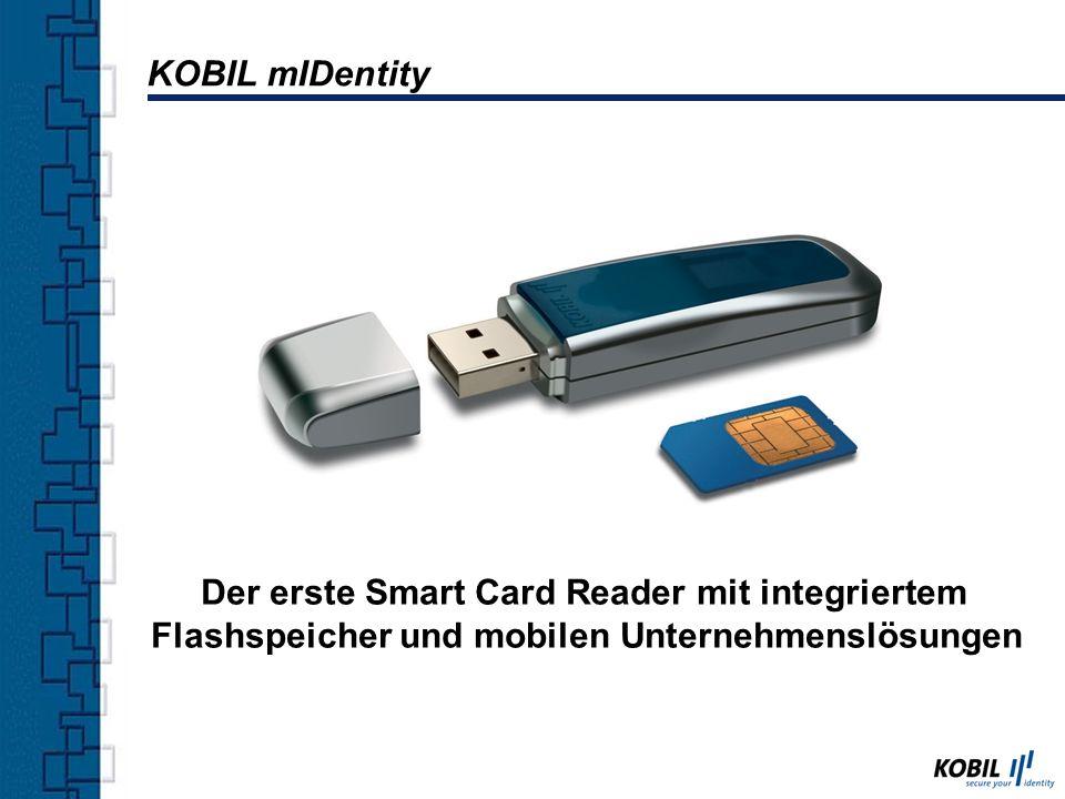 Der erste Smart Card Reader mit integriertem