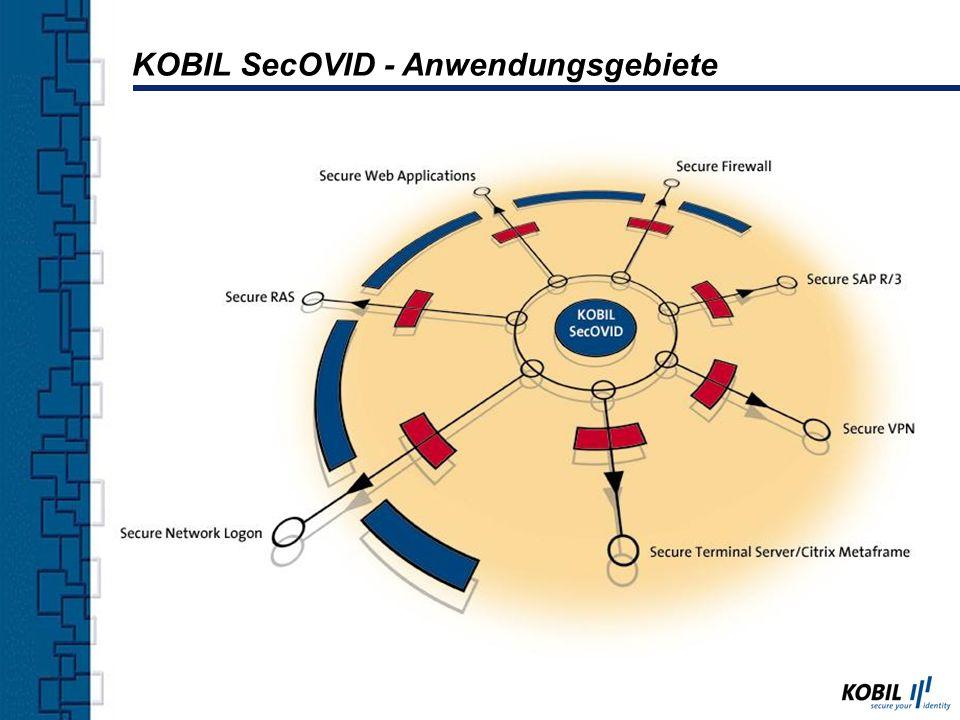 KOBIL SecOVID - Anwendungsgebiete