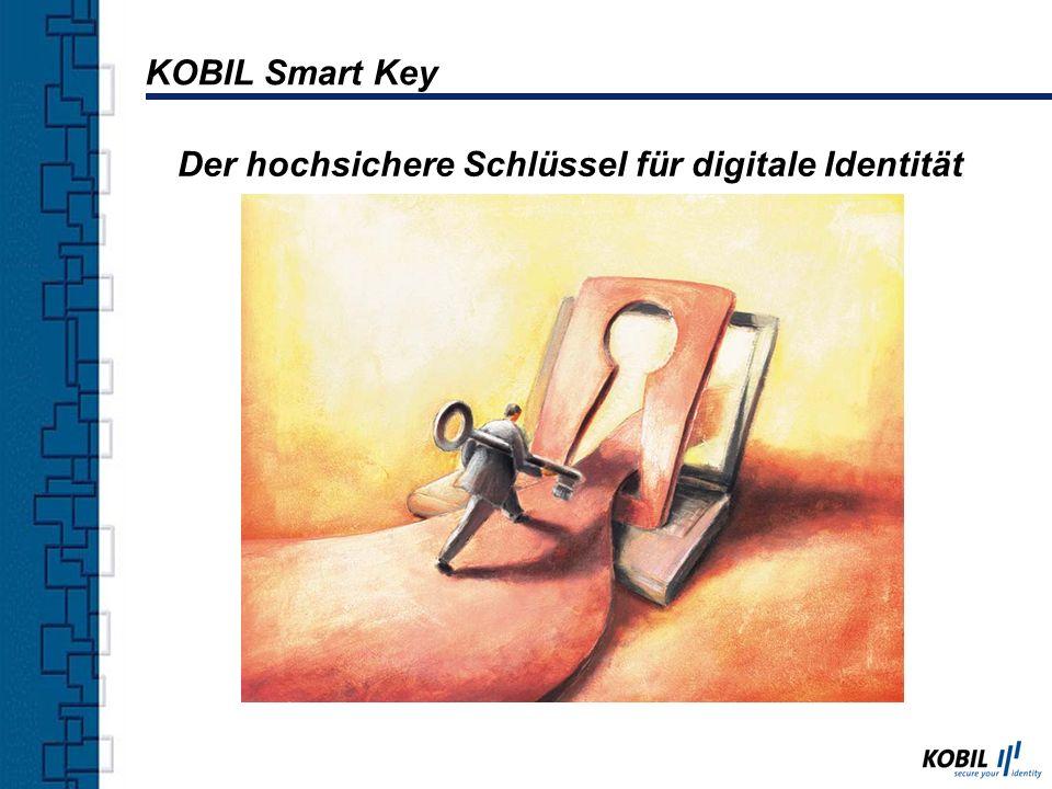 KOBIL Smart Key Der hochsichere Schlüssel für digitale Identität