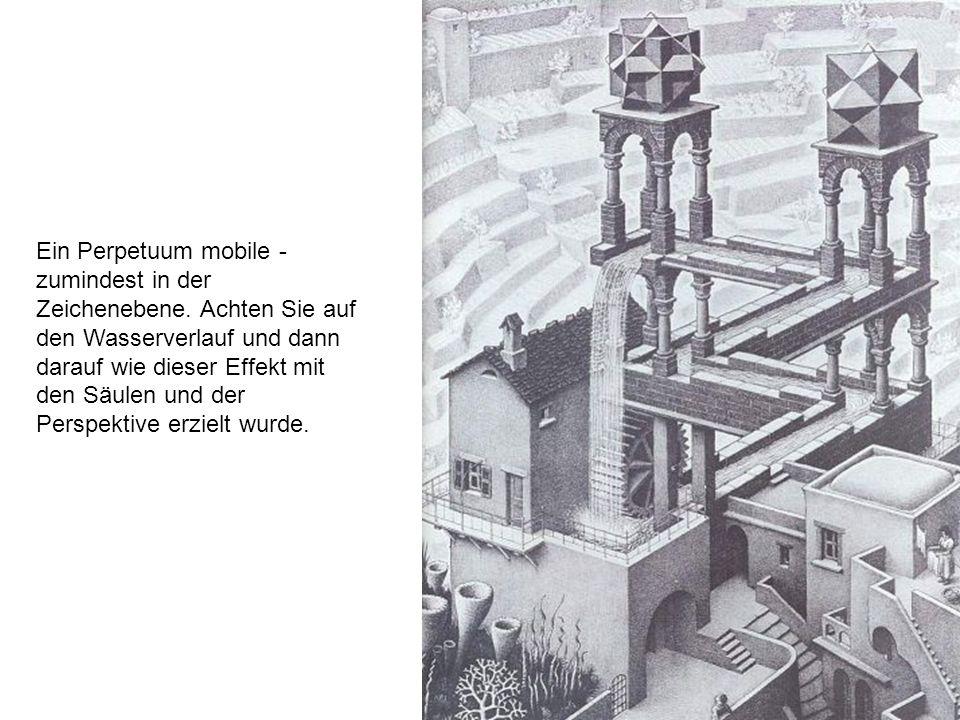 Ein Perpetuum mobile - zumindest in der Zeichenebene