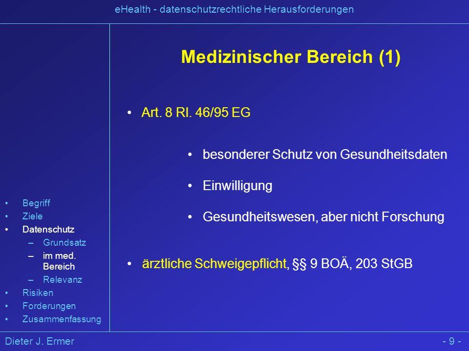 Medizinischer Bereich (1)
