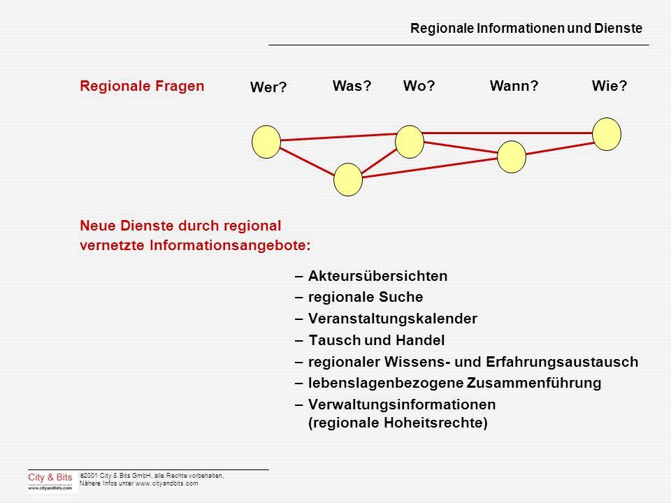 Regionale Informationen und Dienste
