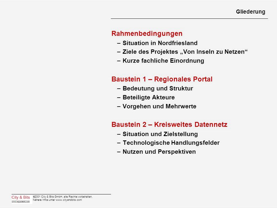 Baustein 1 – Regionales Portal