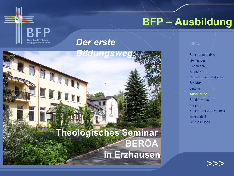 BFP – Ausbildung >>> Der erste Bildungsweg: