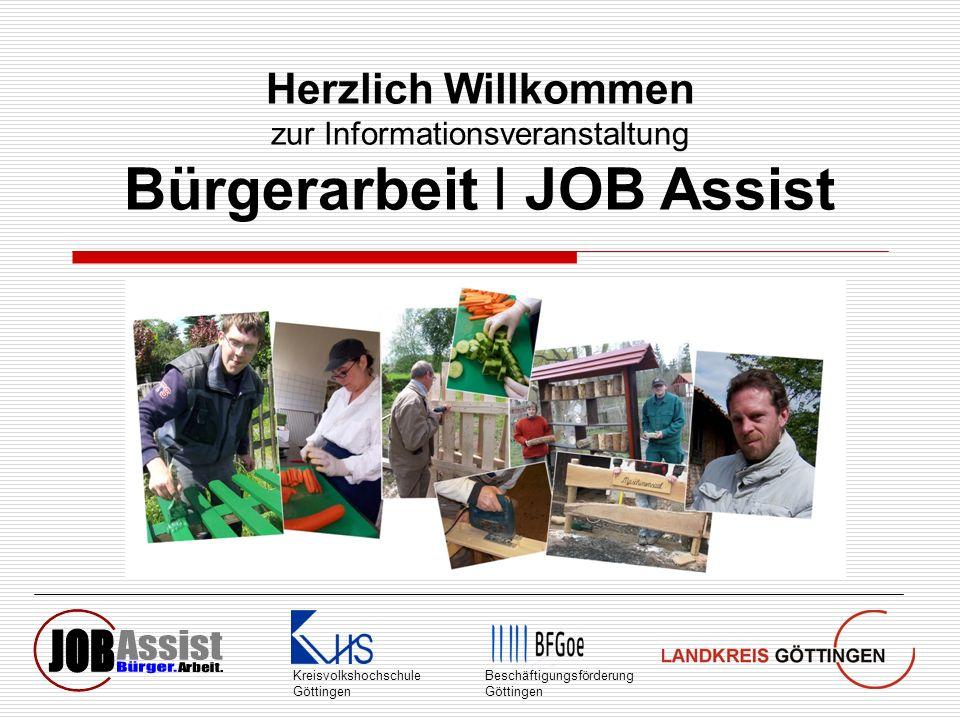 Bürgerarbeit I JOB Assist