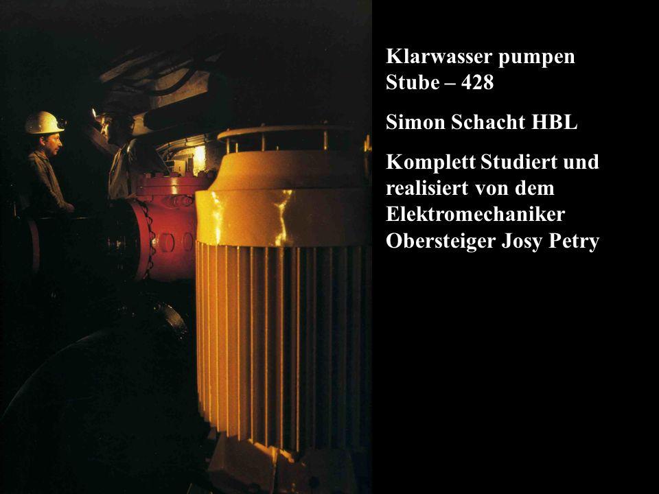 Klarwasser pumpen Stube – 428
