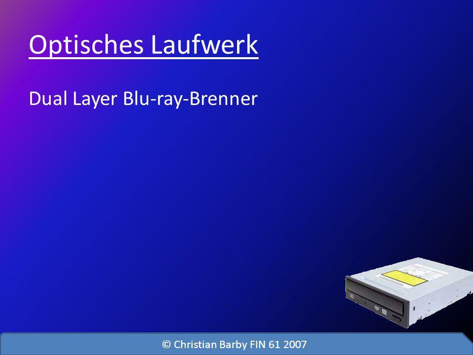 Optisches Laufwerk Dual Layer Blu-ray-Brenner