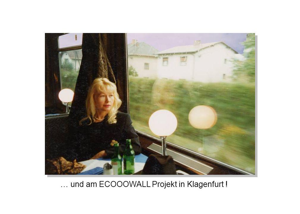 … und am ECOOOWALL Projekt in Klagenfurt !