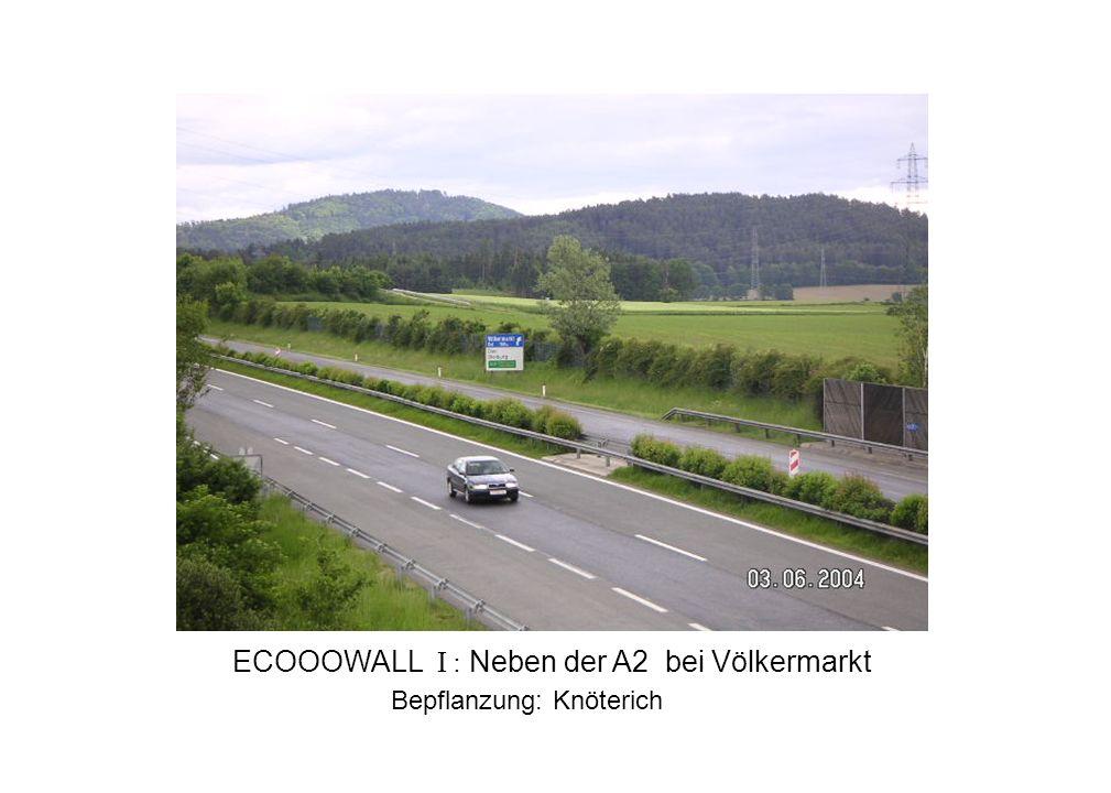 ECOOOWALL I : Neben der A2 bei Völkermarkt