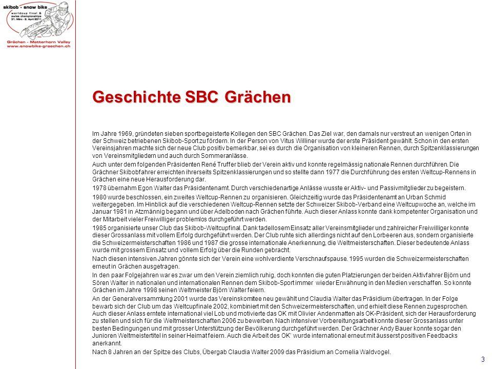 Geschichte SBC Grächen