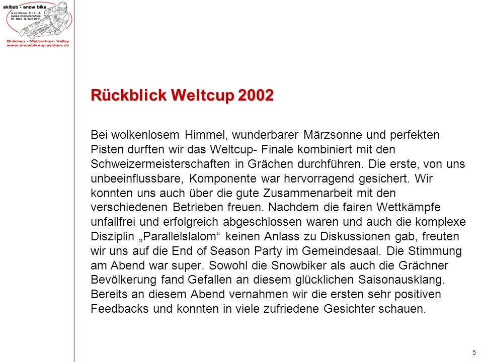 Rückblick Weltcup 2002