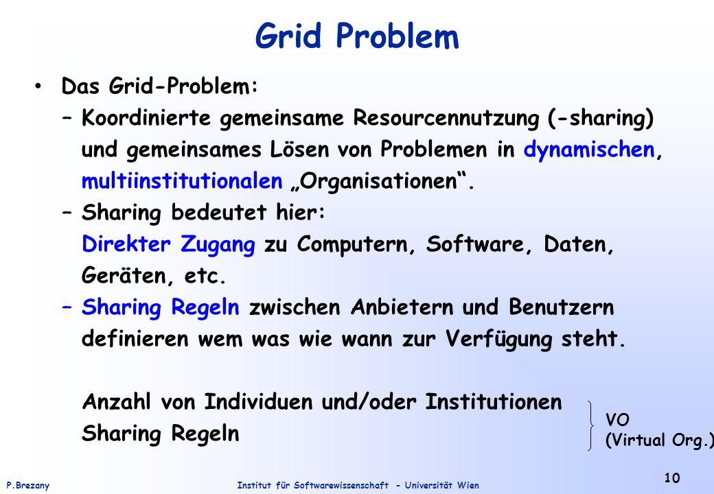 Grid Problem Das Grid-Problem: