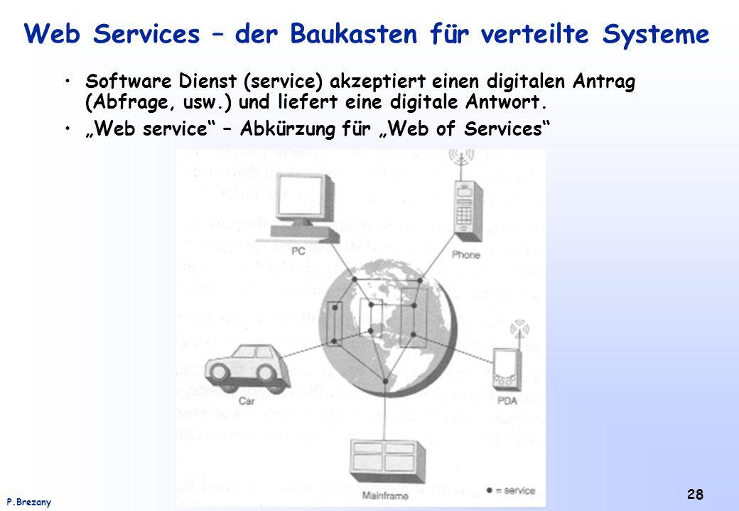 Web Services – der Baukasten für verteilte Systeme
