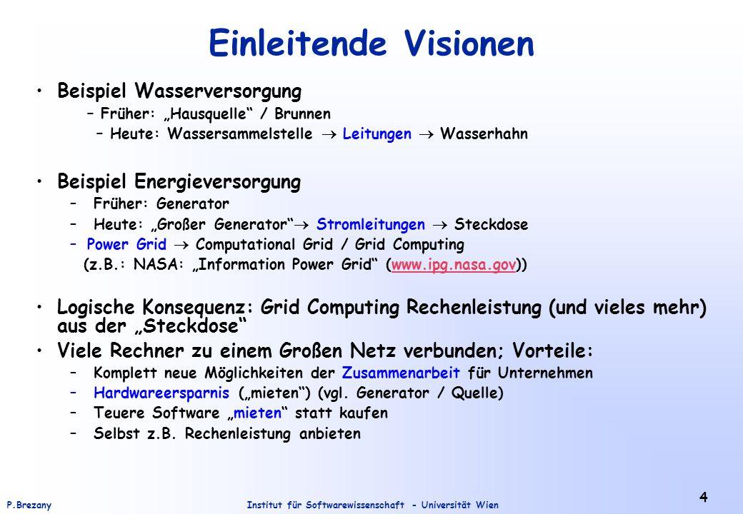 Einleitende Visionen Beispiel Wasserversorgung