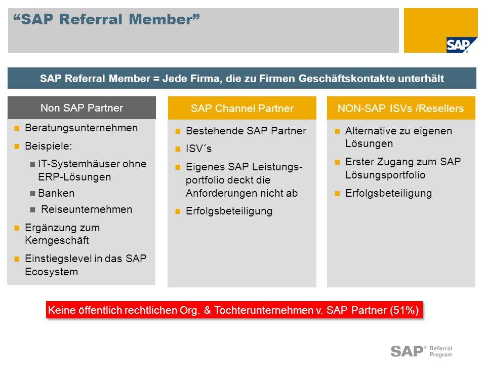 NON-SAP ISVs /Resellers