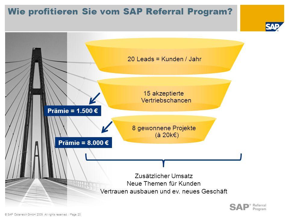 Wie profitieren Sie vom SAP Referral Program