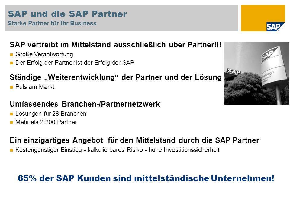 SAP und die SAP Partner Starke Partner für Ihr Business