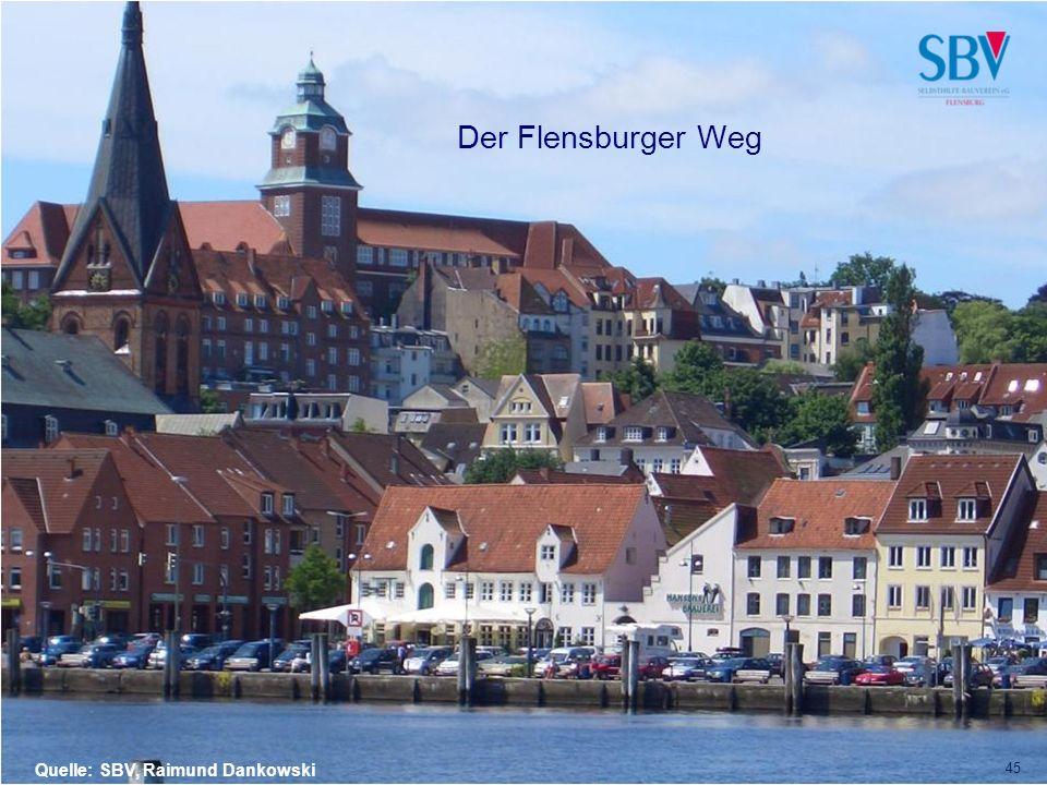 Der Flensburger Weg Quelle: SBV, Raimund Dankowski