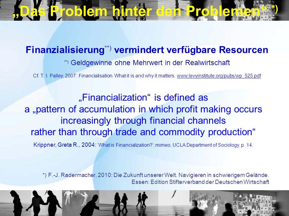 """""""Das Problem hinter den Problemen *)"""